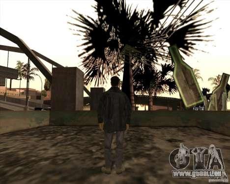 Rainures blanches pour GTA San Andreas quatrième écran