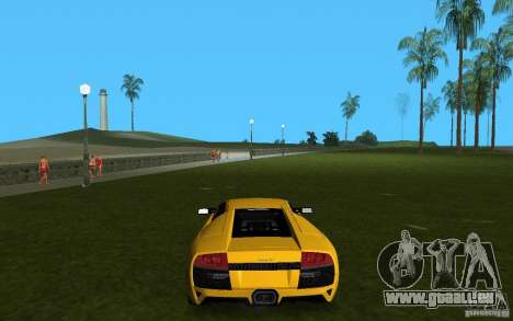 Lamborghini Murcielago LP640 pour une vue GTA Vice City de la droite