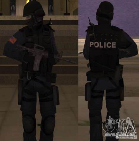 SWAT Officer für GTA San Andreas