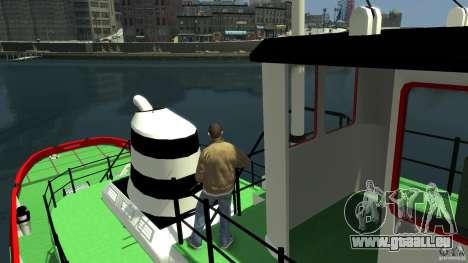 TUG Texture and Handling für GTA 4 Rückansicht