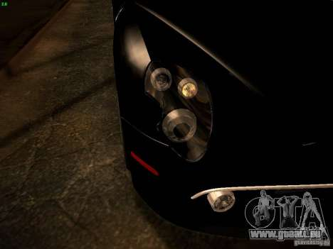 Alfa Romeo 8C Spider 2012 für GTA San Andreas obere Ansicht