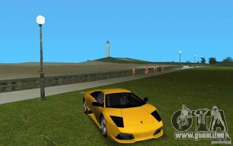 Lamborghini Murcielago LP640 pour une vue GTA Vice City de la gauche