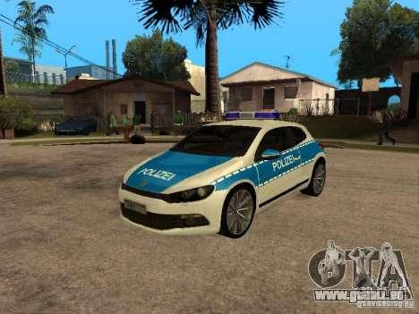 Volkswagen Scirocco German Police pour GTA San Andreas