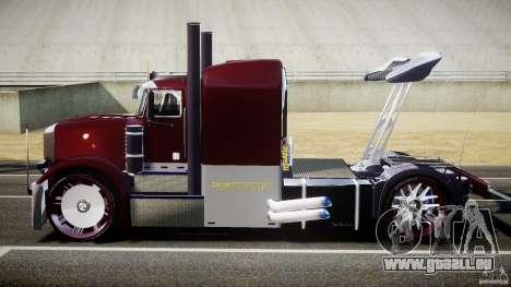 Peterbilt Sport Truck Custom pour GTA 4 est une vue de l'intérieur