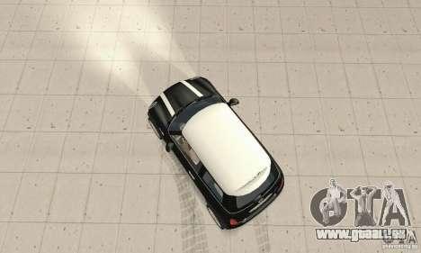 Mini Cooper Hardtop pour GTA San Andreas vue de droite