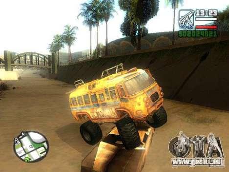 Bullet Storm Bus für GTA San Andreas