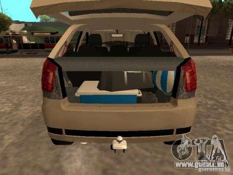 Fiat Palio 1.8R für GTA San Andreas Rückansicht