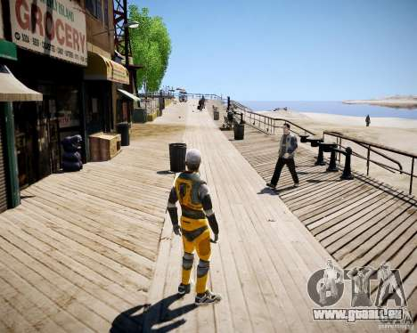Morgan Freeman pour GTA 4 troisième écran