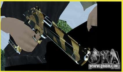 Tiger Weapon Pack für GTA San Andreas zweiten Screenshot