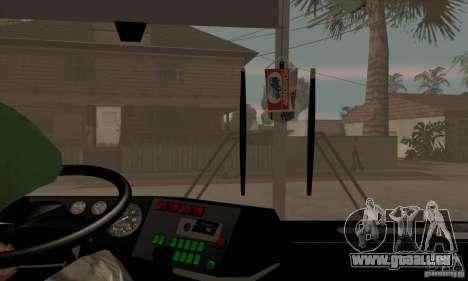 IKARUS 250.14 pour GTA San Andreas vue intérieure