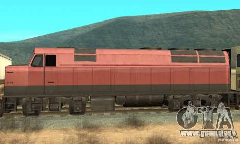 New Streak Skin für GTA San Andreas linke Ansicht