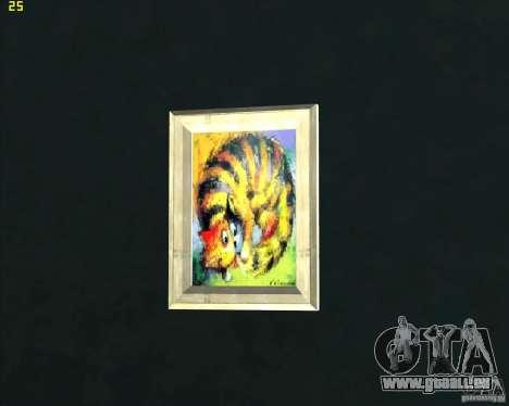 Gemälde im Haus CJ für GTA San Andreas dritten Screenshot