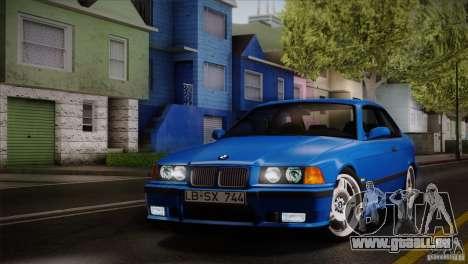 BMW M3 E36 für GTA San Andreas Seitenansicht
