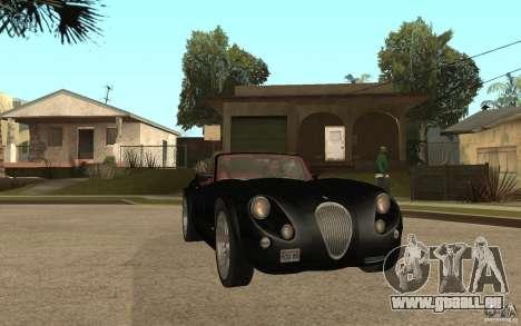 Wiesmann Roadster MF3 pour GTA San Andreas vue arrière
