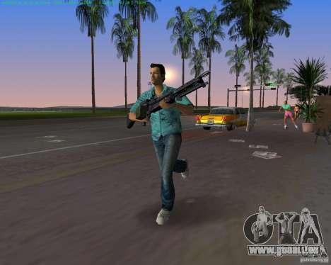 Le nouveau M-60 pour GTA Vice City cinquième écran