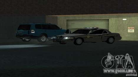 Ford Crown Victoria für GTA San Andreas Rückansicht