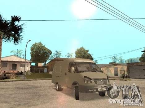 Gazelle 2705 pour GTA San Andreas laissé vue