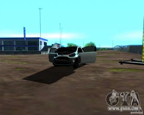 Aston Martin Cygnet für GTA San Andreas Seitenansicht