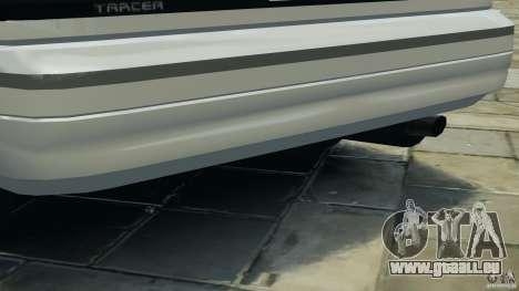 Mercury Tracer 1993 v1.1 pour GTA 4 roues