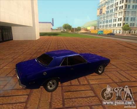 Dodge Challenger RT Hemi pour GTA San Andreas laissé vue