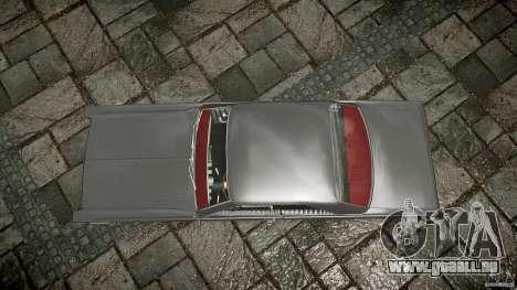 Ford Mercury Comet Caliente Sedan 1965 pour GTA 4 est un droit