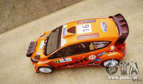 Ford Fiesta RS WRC für GTA 4 rechte Ansicht