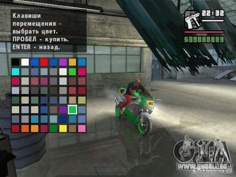 Carcols.dat By Russiamax für GTA San Andreas siebten Screenshot