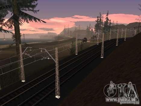 Réseau de contacts pour GTA San Andreas sixième écran