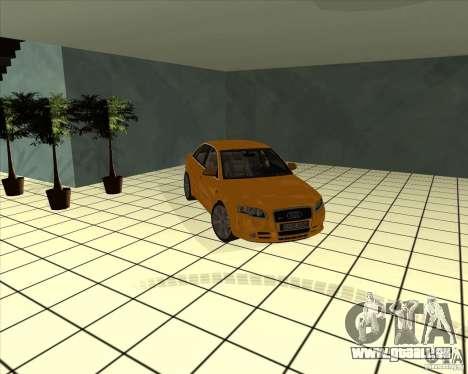 AUDI S4 Sport pour GTA San Andreas vue de côté