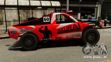 Toyota Tundra Karin Sahara v3.0 für GTA 4 linke Ansicht
