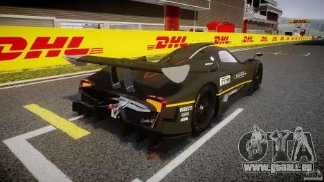 Pagani Zonda R 2009 pour GTA 4 est un côté