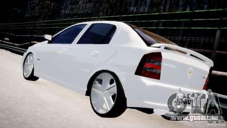 Chevrolet Astra Advantage 2009 pour GTA 4 Vue arrière de la gauche