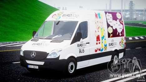 Mercedes-Benz Sprinter Euro 2012 für GTA 4 Rückansicht