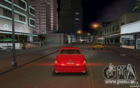 Bentley Arnage T 2005 für GTA Vice City Rückansicht