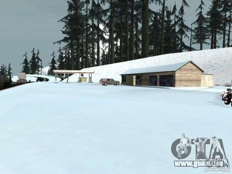 Winter für GTA San Andreas zehnten Screenshot