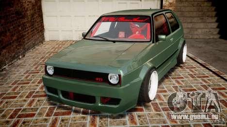 Volkswagen Golf II W8 pour GTA 4
