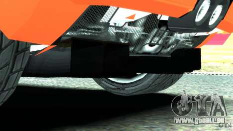Ford GT 2006 v1.0 pour GTA 4 est une vue de dessous