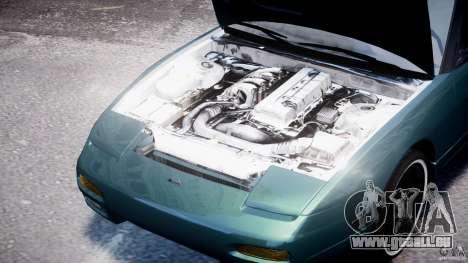 Nissan 240sx v1.0 pour GTA 4 est une vue de l'intérieur