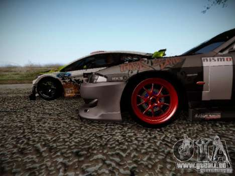 Nissan Silvia S14 Hell pour GTA San Andreas vue intérieure