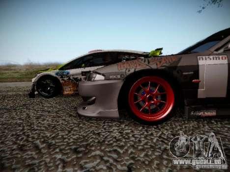 Nissan Silvia S14 Hell pour GTA San Andreas vue intérieure