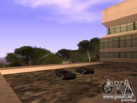 Koenigsegg CCXR Edition für GTA San Andreas Räder