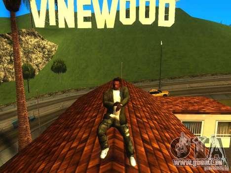 Gangam Style pour GTA San Andreas deuxième écran