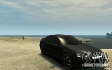Subaru Legacy B4 specB 3.0 R pour GTA 4 Vue arrière