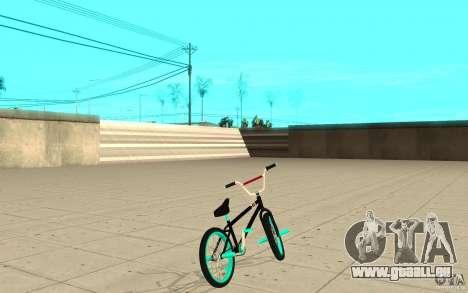 REAL Street BMX mod Black Edition für GTA San Andreas zurück linke Ansicht