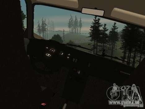 VAZ 2107 v1.1 pour GTA San Andreas vue de droite