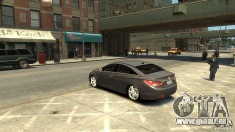 Hyundai Sonata für GTA 4 linke Ansicht