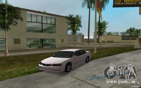 Chevrolet Impala SS 2003 für GTA Vice City zurück linke Ansicht