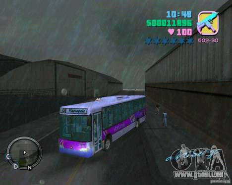 Marcopolo Bus für GTA Vice City
