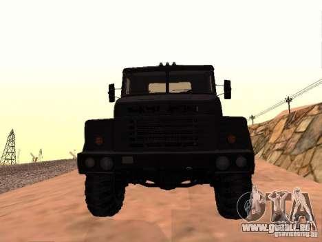 KrAZ 260V pour GTA San Andreas laissé vue