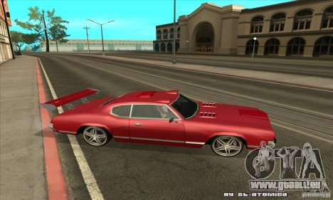 Sabre Drift pour GTA San Andreas vue de droite